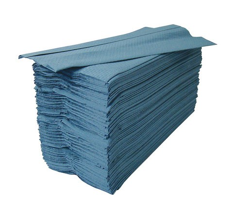 Blue C Fold Hand Towels x 2400 Per Case