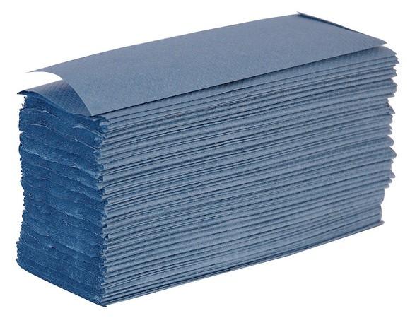 Blue Z Fold Hand Towels x3000 Per Case