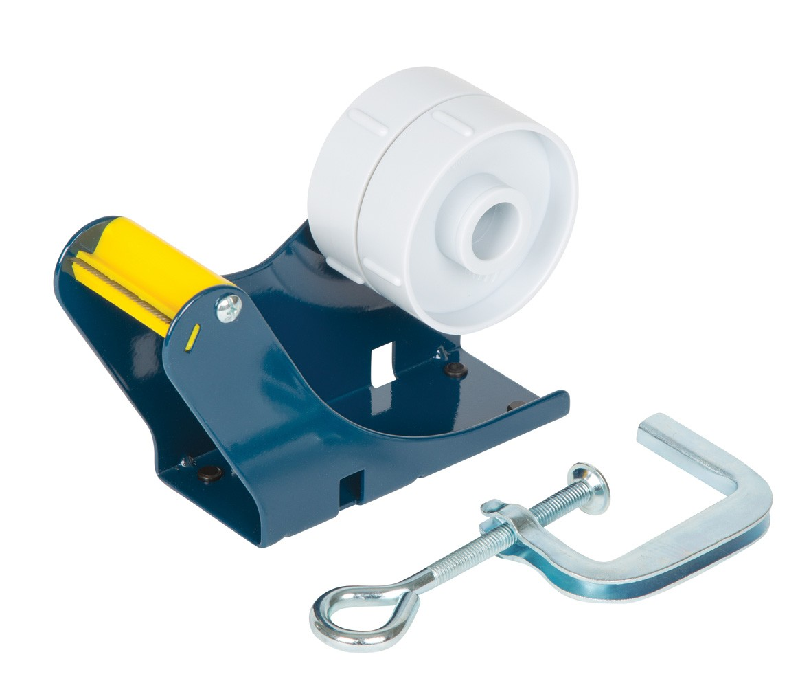 TAPE DISPENSER PACPLUS BENCH CLAMP 50mm WIDE