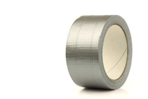 Silver Cloth Tape 50mm x 50mtr