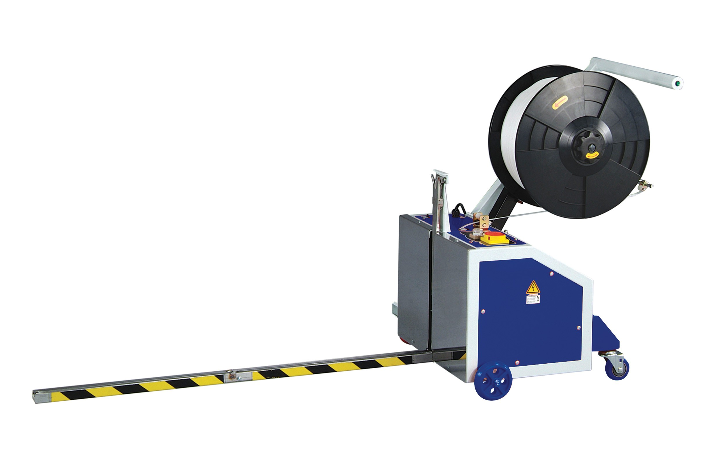 Optimax Semi auto PS500/PS500B pallet strapping Machine