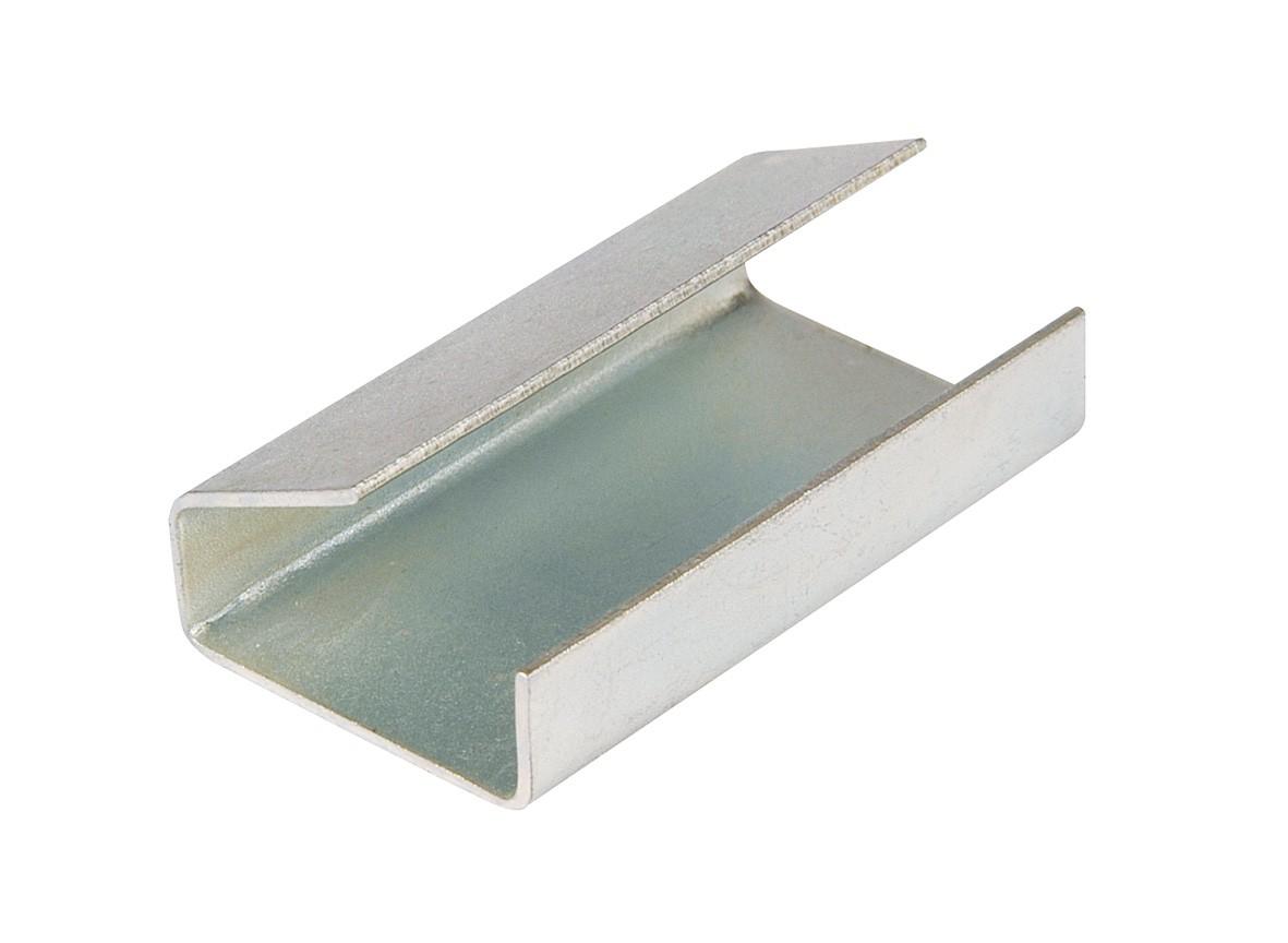 STRAPPING SEALS UB SEMI OPEN STEEL 12 x 25 x 0.5mm (2000)