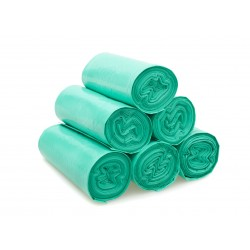 18 x 29 x 39 160g REFUSE SACK GREEN ON ROLL
