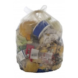 18 x 29 x 39 140g REFUSE SACK CLEAR