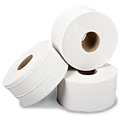Mini Jumbo Toilet Rolls x 12 pack