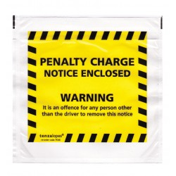 PENALTY CHARGE WALLETS 130 x 1200mm PRINTED (1000)