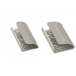 Safeguard serrated strapping seals