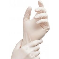 White Latex Gloves x 100