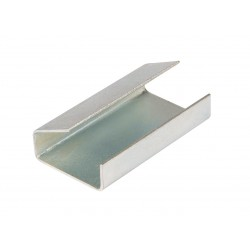 STRAPPING SEALS UB SEMI OPEN STEEL 12 x 25 x 0.5mm (2000)