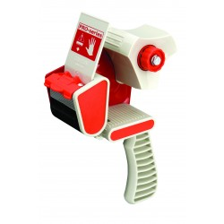 TAPE DISPENSER PACPLUS PISTOL GRIP FOR 50mm WIDE TAPE