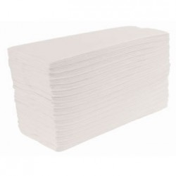 White Interfold Hand Towels x 4600 Per Case