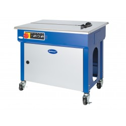 MACHINE STRAPPING OPTIMAX SEMI AUTO ADJ TABLE HEIGHT