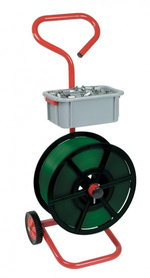 DISPENSER MOBILE FOR STRAPPING ON PLASTIC REEL (1)